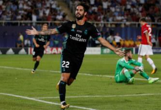 Supercoupe d'Europe. Le Real Madrid vainqueur face à Manchester United