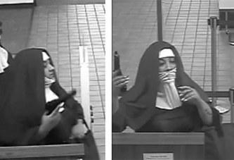 Deux femmes déguisées en bonnes soeurs braquent une banque aux Etats-Unis