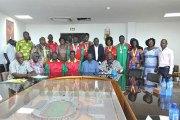 8ème jeux de la francophonie: Les médaillés Burkinabè récompensés