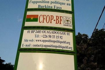 Burkina Faso: L'opposition politique demande la levée du couvre-feu