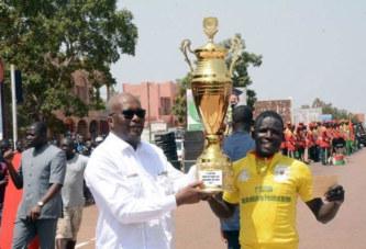 Coup de pédale du Président du Faso: Yacouba YAMEOGO de l'ASFA en jaune