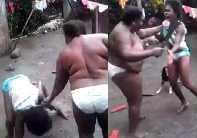 elle bat sa fille avec une machette vid o netafrique net rh netafrique net