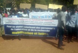 Grève du personnel de l'éducation : Refus du ministre de recevoir la Plateforme revendicative, en route pour une grève illimitée ?