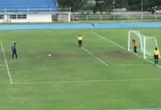 Football: ce tir au but qui fait le buzz sur la toile (Vidéo)