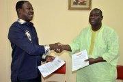 Direction de Fasozine: Serge Tomondji passe le témoin à Désiré Sawadogo