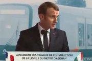 Côte d'Ivoire-France: Depuis Abidjan, Macron annonce la création d'une école régionale dédiée à la lutte contre le terrorisme