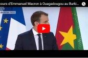 Discours d'Emmanuel Macron à Ouagadougou au Burkina Faso