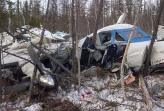 Russie : Une fillette de 2 ans est la seule survivante d'un crash d'avion