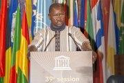 39è session de la conférence générale de l'UNESCO:  De bonnes nouvelles pour le Burkina Faso