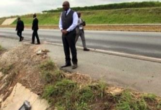 Côte d'Ivoire: Deux jours après le décès de son aide de camp, Hamed Bakayoko s'est rendu sur le lieu de l'accident mortel