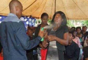 Afrique du Sud : un pasteur arrêté pour avoir pulvérisé de l'insecticide dans les yeux d'une fidèle (photos)