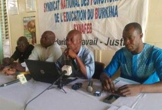 Grève des enseignants : « Nous n'allons pas permettre qu'ils sacrifient l'avenir de nos enfants » (Koudougou Robert Kaboré, Secrétaire général SYNAFEB)