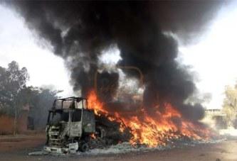 Ouaga inter : 2 camions prennent feu