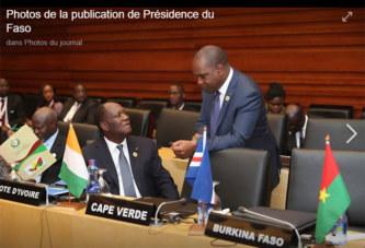 Présidence du Faso: Ces images qui déshonorent la Cote Ivoire, le Burkina et le Togo