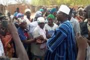 Dans le Passoré: Eddie Komboigo accueilli par une foule et conduit de Yako à Toécin son village natal Spécial