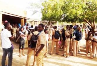 Lycée départemental de Pouytenga : Le proviseur séquestré par des élèves
