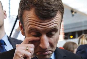 Le garde du corps d'Emmanuel Macron le traite d'»enfoiré»…