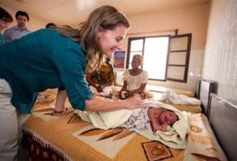 Melinda Gates auBurkina Faso: «Je viens voir les problèmes, les solutions et poser des questions»