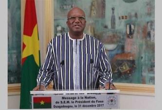 Fin d'année: le message à la Nation de Roch Marc Christian Kaboré