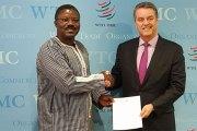 Ambassade Mission permanente du Burkina à Genève:L'Ambassadeur Dieudonné W. Désiré Sougouri a présenté ses lettres de créances