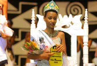 Liliane Iradukunda couronnée « Miss Rwanda 2018 »