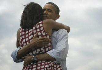 Saint Valentin: Le message de Michelle à son époux Barack Obama