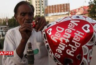 Pakistan : Parler de la St Valentin est interdit