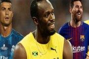 Lionel Messi ou Cristiano Ronaldo ? Usain Bolt donne son avis