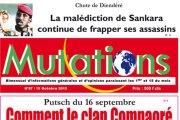 Communiqué de l'Union de la presse indépendante du Faso relatif à la condamnation du journal «Mutations»