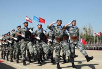 La Chine enverra 395 casques bleus au Mali