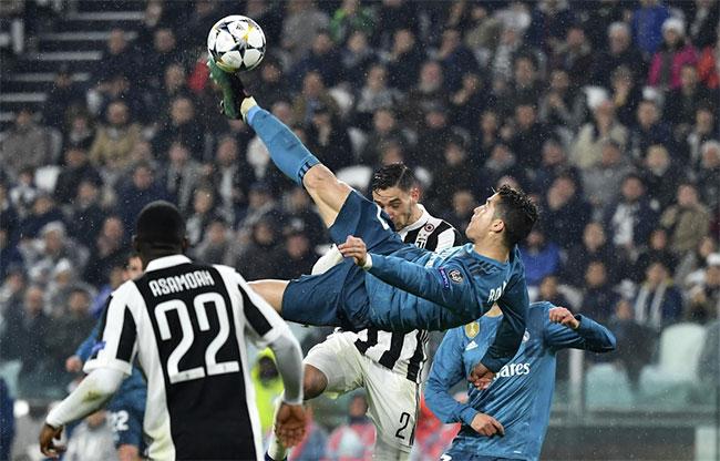 Real Madrid Avec Un Retourne Exceptionnel Ronaldo Met La Juventus