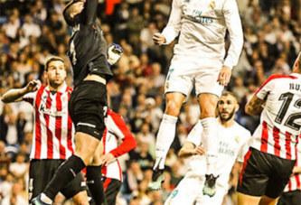 Football: L'impressionnante détente de Ronaldo