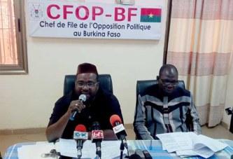 «Le vote des Burkinabè de l'étranger n'est pas négociable», clame l'opposition politique