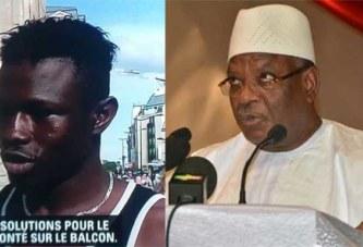 """Le Président IBK salue en Mamoudou Gassama """"un digne et courageux fils du Mali."""