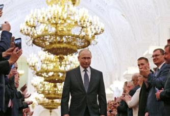 Vladimir Poutine investi pour un quatrième mandat à la tête de la Russie