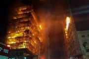 Brésil : une tour de 24 étages s'effondre à Sao Paulo