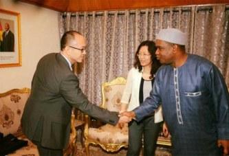 Coopération : les premiers diplomates Chinois affectés au Burkina accueillis par le ministre des Affaires étrangères