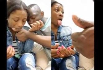 Un couple camerounais fait une alliance de sang contre l'infidélité: VIDÉO