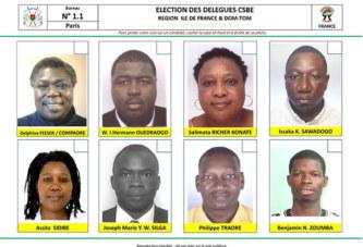 Mobilisation exceptionnelle de la communauté burkinabè d'Ile-de-France pour l'élection de ses Délégués au CSBE