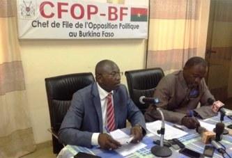 Conférence de l'opposition: le CFOP dénonce de nombreuses insuffisances sur le nouveau code pénal