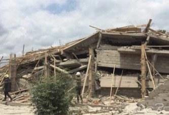 Côte d'Ivoire: Yamoussoukro, un immeuble s'écroule sur les ouvriers, plus d'une dizaine de blessés