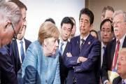 Donald Trump seul contre le Monde? Cette photo qui fait le buzz !!