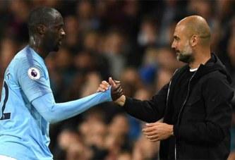 Yaya Touré accuse Pep Guardiola d'avoir des problèmes avec les «joueurs de couleur»