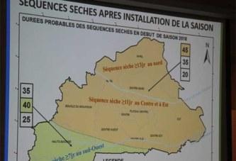 Burkina: un cumul pluviométrique varié selon les régions pour la prévision saisonnière 2018