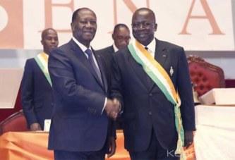 Côte d'Ivoire: Présidentielle 2020, Ouattara choisit Ahoussou comme colistier