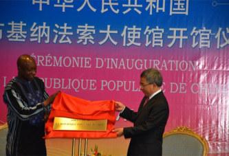 Burkina: La Chine populaire rouvre son ambassade après 24 ans d'absence