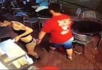 Etats-Unis: Une serveuse bastonne un client qui lui touche les fesses (Vidéo)