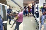 Ghana: Un policier tabasse une femme portant un bébé dans une banque (VIDÉO)