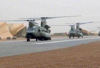 Les Chinook britanniques sont arrivés au Mali
