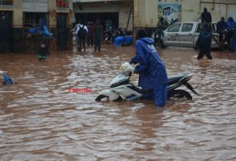Inondations au Burkina : 4922 sinistrés et 7 décès enregistrés du 1er mai au 7 aout 2018
